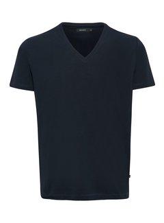 Matinique Madelink Stretch T-shirt V-hals Dark Navy (30200603 - 20210)
