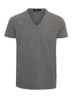 Matinique Madelink Stretch T-shirt V-hals Grijs (30200603 - 29003)