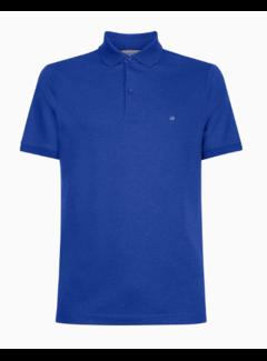 Calvin Klein Polo Slim Fit Navy Blauw (K10K105182 - DU9)