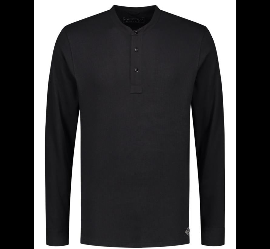 Long Sleeve T-shirt Zwart (202412 - 999)