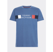 Tommy Hilfiger T-shirt Regular Fit Indigo Blauw (MW0MW13330 - C9T)