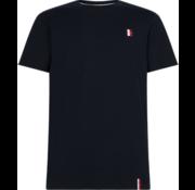 Tommy Hilfiger T-shirt Ronde Hals Met Logo Navy Blauw (MW0MW13338 - DW5)