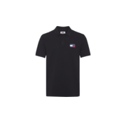 Tommy Hilfiger Polo Met Logo Zwart (DM0DM07456 - BBU)