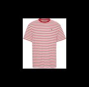 Tommy Hilfiger T-shirt Rood/Wit Gestreept (DM0DM07808 - 0E9)