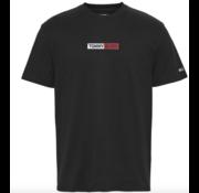 Tommy Hilfiger T-shirt Ronde Hals Met Logo Zwart (DM0DM07868 - BDS)