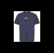 Tommy Hilfiger T-shirt Ronde Hals Met Logo Navy Blauw (DM0DM07868 - C87)