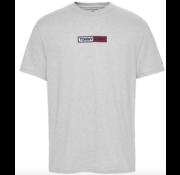 Tommy Hilfiger T-shirt Ronde Hals Met Logo Licht Grijs (DM0DM07868 - P01)