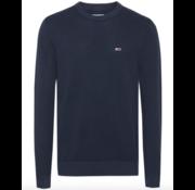 Tommy Hilfiger Sweater Ronde Hals Navy Blauw (DM0DM07947 - C87)