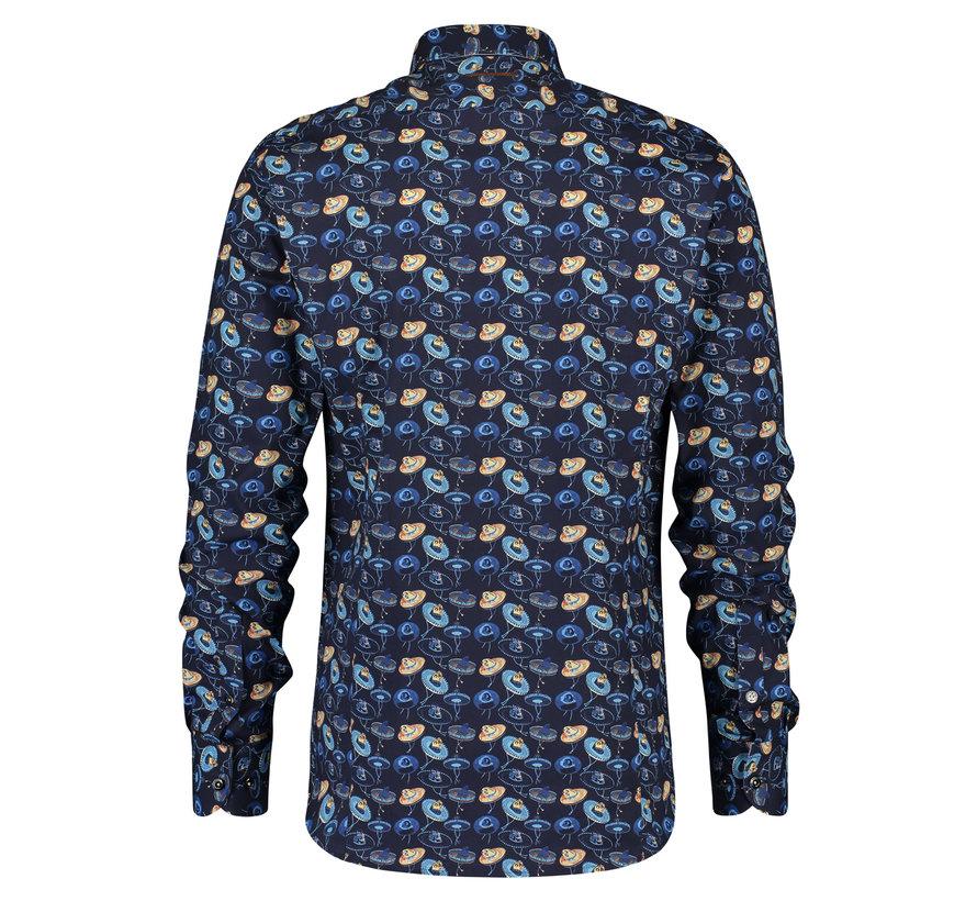 Overhemd Sombrero Navy (20.02.022)