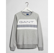 Gant Sweater Logo Grijs (2046021 - 93)