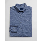 Gant Overhemd Print Evening Blue (3023930 - 442)