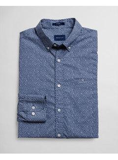 Gant Overhemd Print Evening Blue (3023930 - 442)