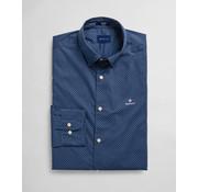 Gant Overhemd Print Persian Blue (3026730 - 423)