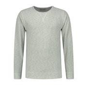 Dstrezzed Sweater Ronde Hals Gemêleerd Groen (211270 - 689)