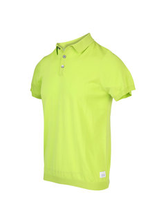 Blue Industry Polo Korte Mouw Lime Groen (KBIS20 - M12 - Lime)