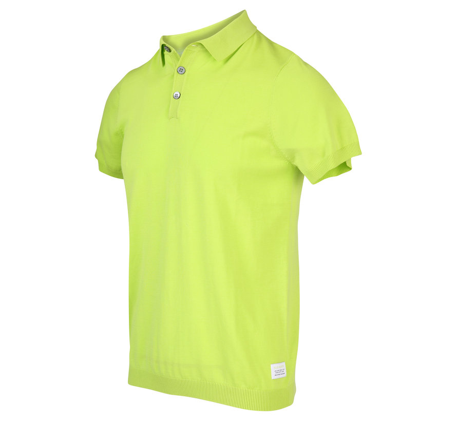 Polo Korte Mouw Lime Groen (KBIS20 - M12 - Lime)