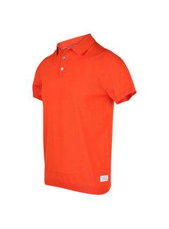 Blue Industry Polo Korte Mouw Oranje (KBIS20 - M12 - Orange)