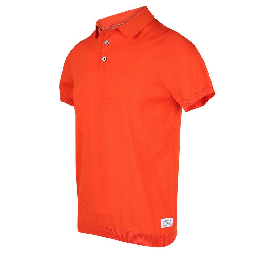 Polo Korte Mouw Oranje (KBIS20 - M12 - Orange)
