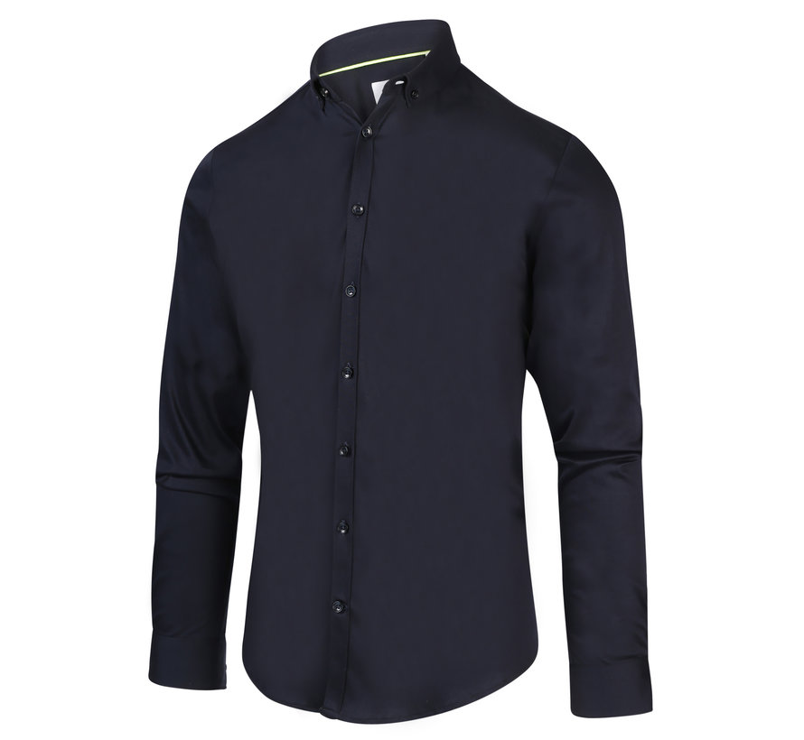 Overhemd Navy Blauw (2032.21)