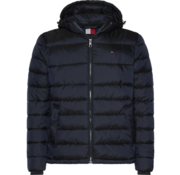 Tommy Hilfiger Jas Hooded Bomber Navy (MW0MW11947 - CHS)