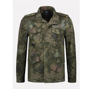 Dstrezzed Spijkerjas Camouflage Groen (111207 - 522)
