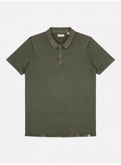 Dstrezzed Polo Korte Mouw Army Groen (405258 - 524)