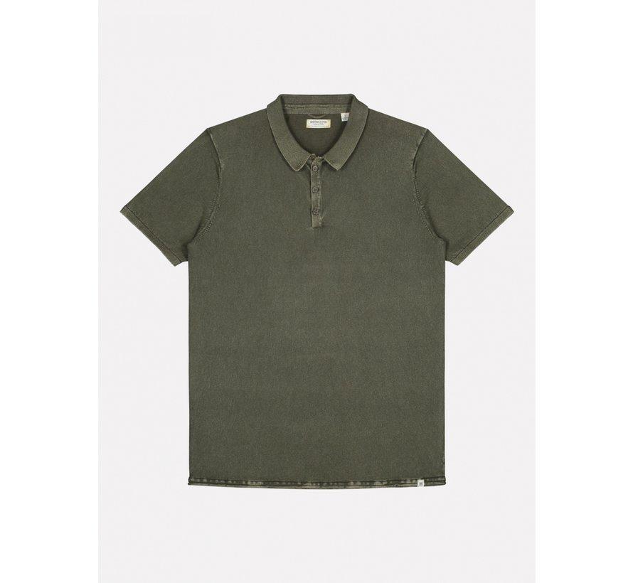 Polo Korte Mouw Army Groen (405258 - 524)