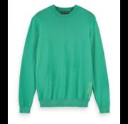 Scotch & Soda Sweater Ronde Hals Groen (155490 - 0896)