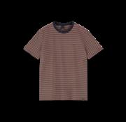 Scotch & Soda T-shirt Gestreept Navy/Rood (155403 - 0217)