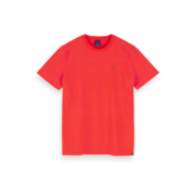 Scotch & Soda T-shirt Gestreept Rood (155403 - 0221)