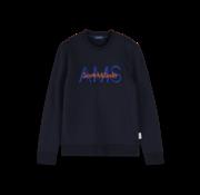 Scotch & Soda Sweater Logo Navy (155275 - 0002)