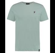 Kultivate T-shirt Ronde Hals Groen (1901020228 - 395 - Celadon)