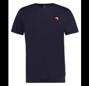 Kultivate T-shirt Ronde Hals Navy Blauw (1901020232 - 319 - Dark Navy)