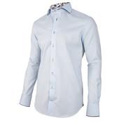 Cavallaro Napoli Overhemd Enzio Lichtblauw (1001087 - 61000)