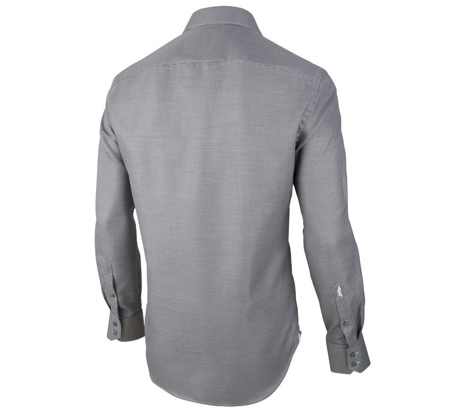Overhemd Giulio Ruit Navy (1001010 - 10633)