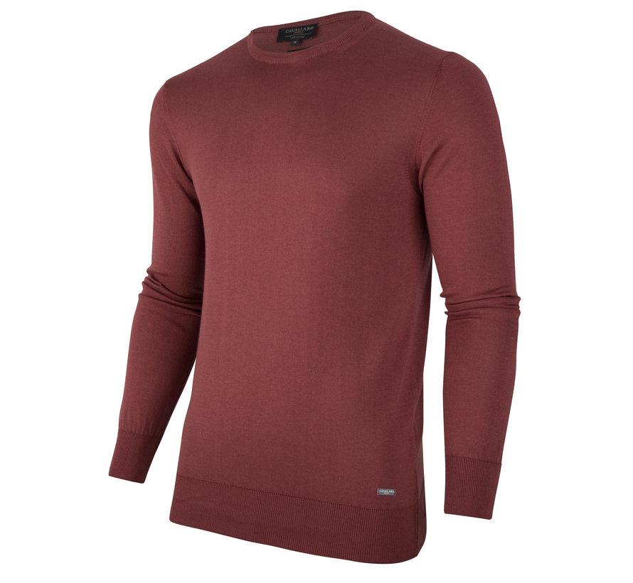 Pullover Marcello Bordeaux Rood (1801014 - 46000)