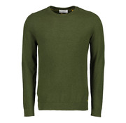 New In Town Pullover Ronde Hals Groen (08985010 - 653)