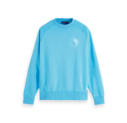 Scotch & Soda Sweater Ronde Hals Blauw (155272 - 3490)