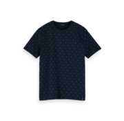 Scotch & Soda T-shirt Print Navy (155390 - 0588)
