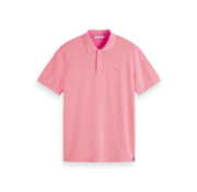 Scotch & Soda Polo Stretch Pique Roze (155461 - 3480)