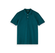 Scotch & Soda Polo Classic Deep Green Melange (155459 - 3574)