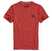 Superdry Ronde Hals T-shirt Orange Space (M1010024A - T1S)