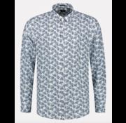 Dstrezzed Overhemd Regular Fit Print Wit (303304 - 100)
