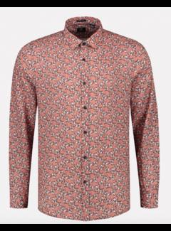 Dstrezzed Overhemd Regular Fit Print Roze (303304 - 434)
