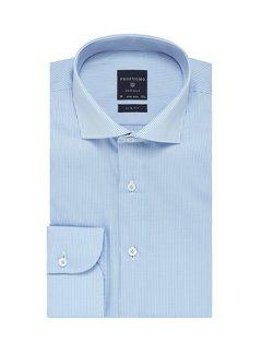 Profuomo Overhemd Slim Fit Ruit Blauw (PP0H0A021)N