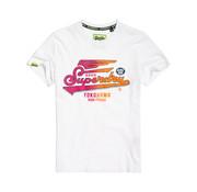 Superdry T-shirt Rond hals Logo Wit (M10101IT - 01C)