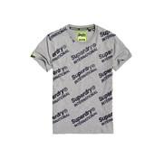 Superdry T-shirt Logo International Grijs (M10102CT - 07Q)
