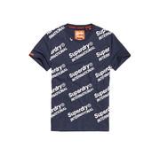 Superdry T-shirt Logo International Navy (M10102CT - BCY)