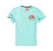 Superdry T-shirt Ronde Hals Pool Blue (M10104IT - BCZ)
