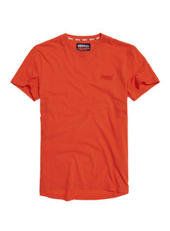 Superdry T-shirt Ronde Hals Burnt Orange (M10104MT - 11M)